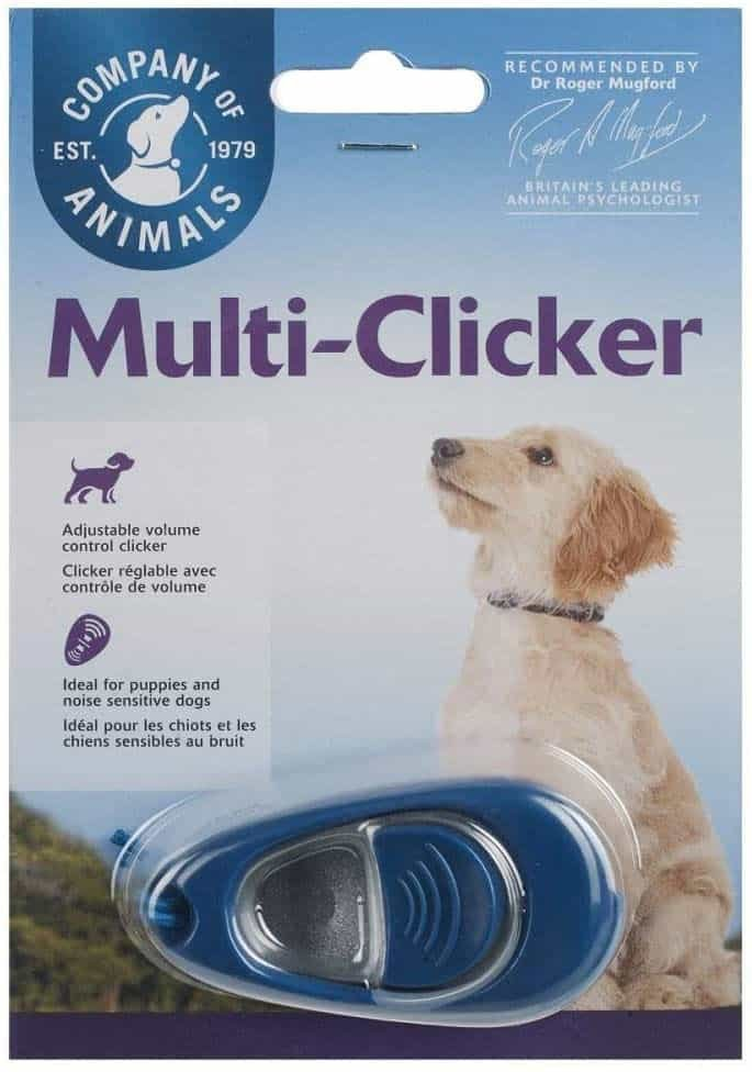 Company of Animals Clix Multi-Clicker Training Tool for Dogs