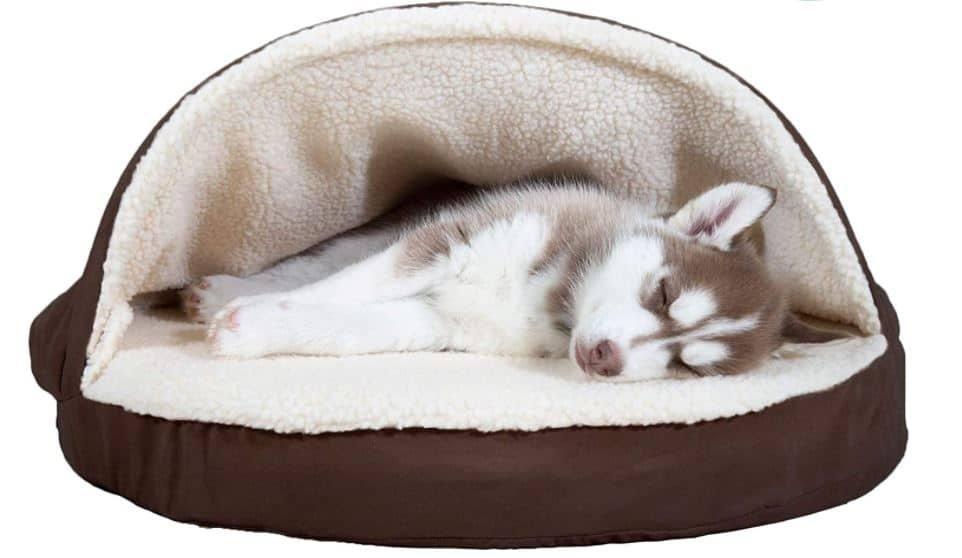 FurHaven Snuggery Burrow Pet Bed