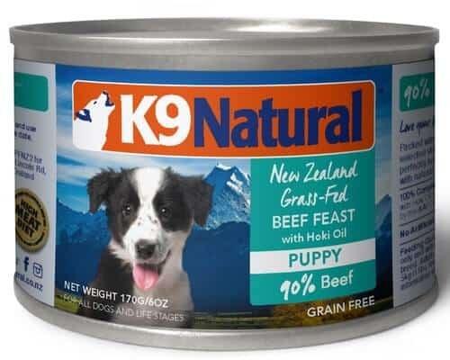 K9 Natural Puppy Beef & Hoki