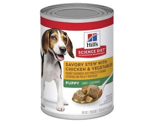 Hill's Science Diet Puppy Dog Food Line