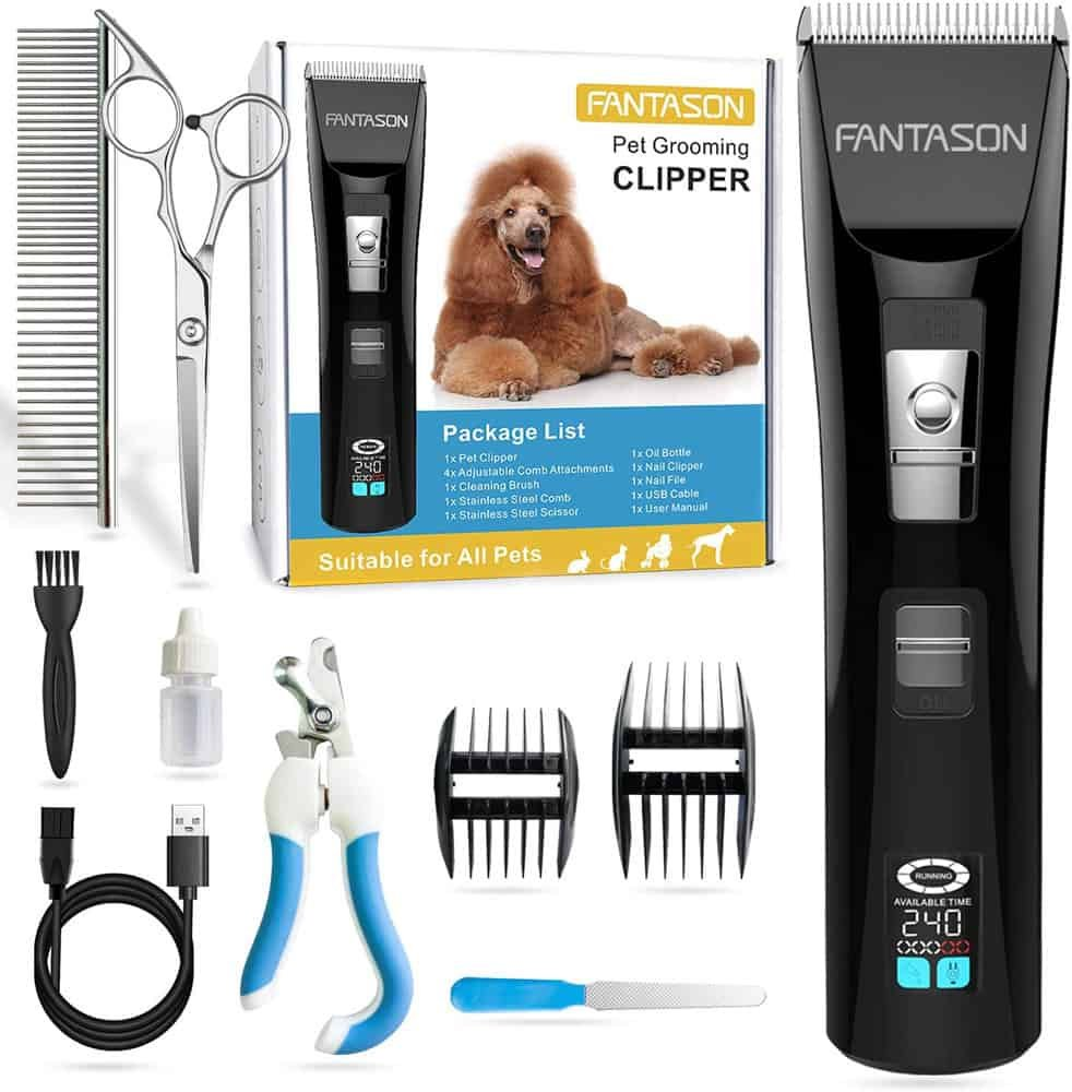 FANTASON Professional Pet Grooming Kit