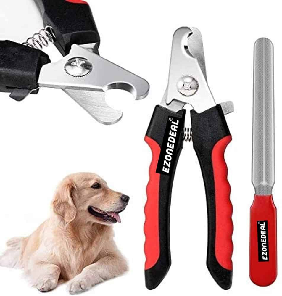 Ezonedeal Dog Nail Clippers and Trimmer
